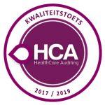 HCA gecertificeerd 2017-2019!